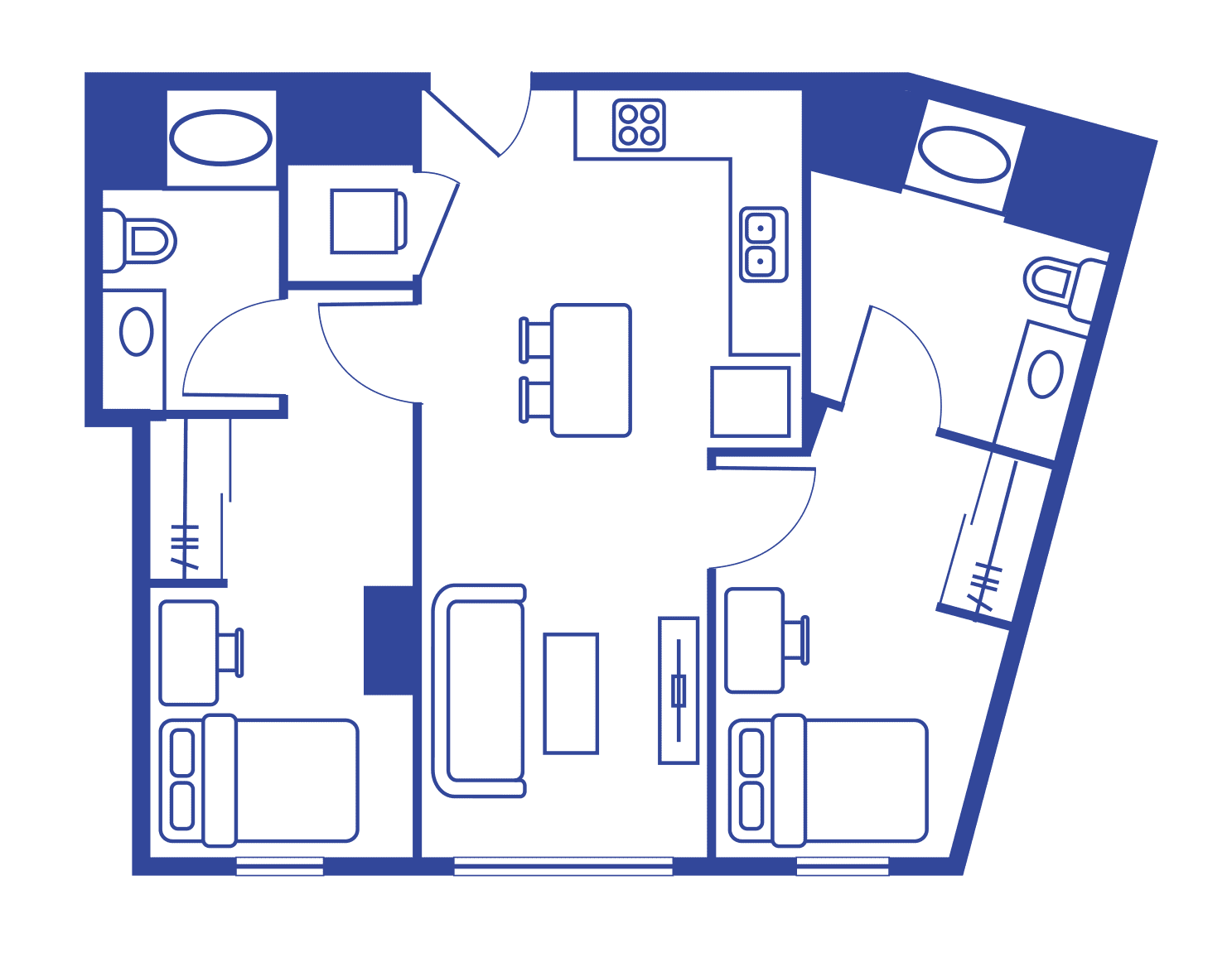 2 Bedroom 2 Bath – Lark At Kohl
