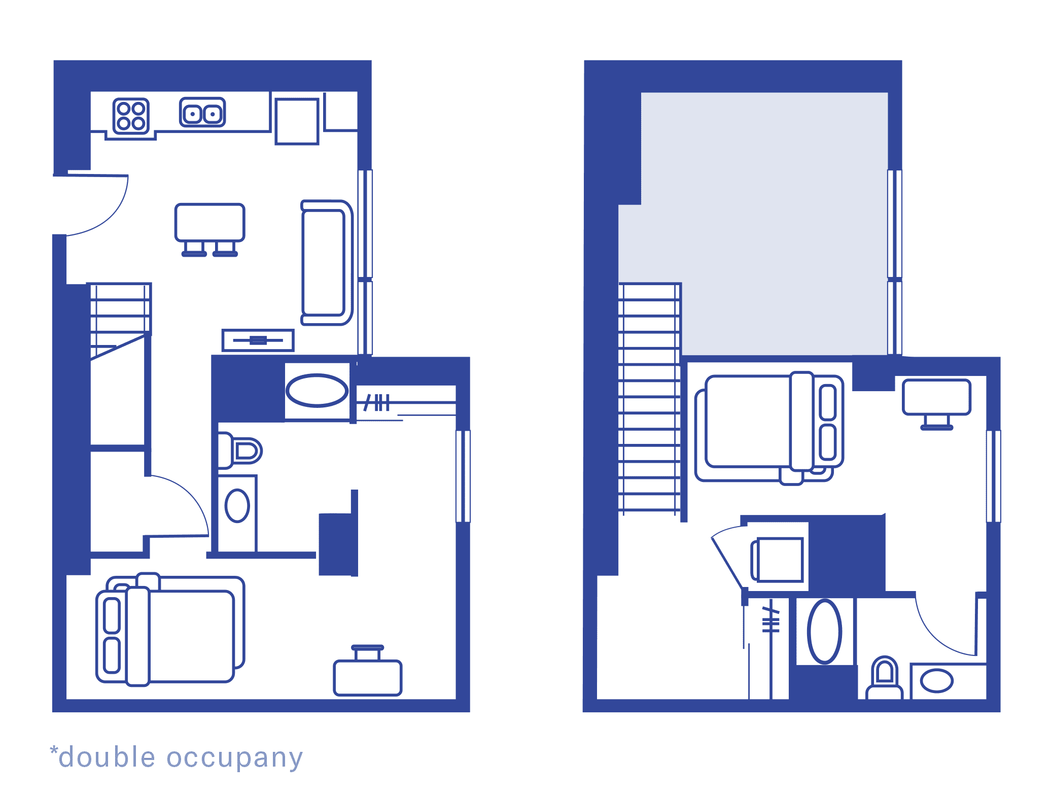 2 Bedroom 2 Bath Loft – Lark At Kohl