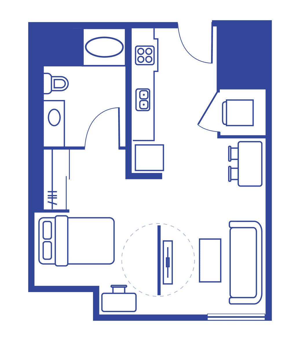 Studio Apartments Madison