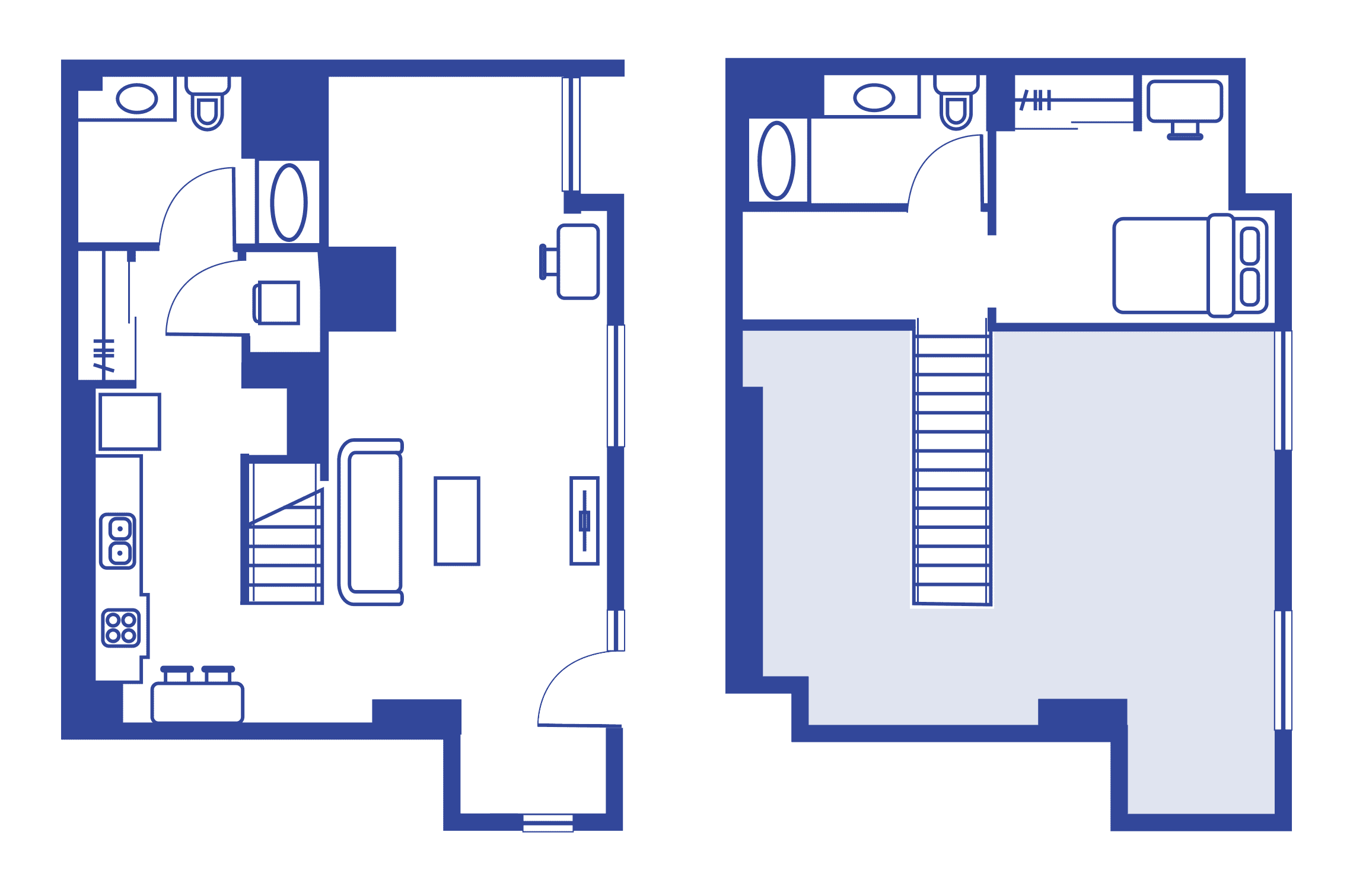 1 Bedroom Loft – Lark At Kohl